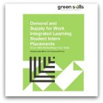 DEMAND AND SUPPLY FOR WORK INTERGRATED LEARNING STUDENT INTERN PLACEMENTS COVER 2