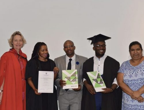 Green Skills Certification Ceremony held at Wits University