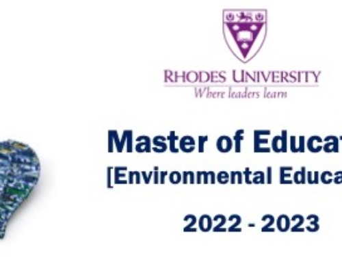 Rhodes University :Master of Education (Environmental Education) – Applications now open for 2022!